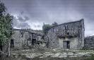 Casa en ruínas en Santa María de Augas Santas.