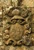 Labra heráldica da capela da Casa de Silva.