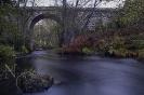 Ponte Nogueira sobre o río Liñares.